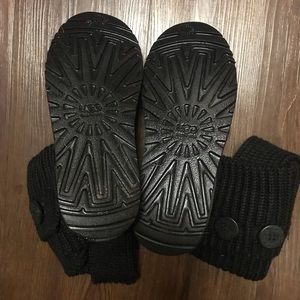 UGG Shoes - Black Knit UGG boots